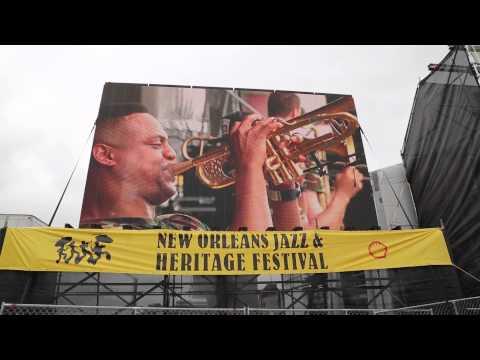 Brass-A-Holics N.O. Jazzfest 2015
