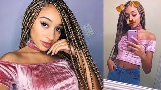 what happened to my box braids hair advice q
