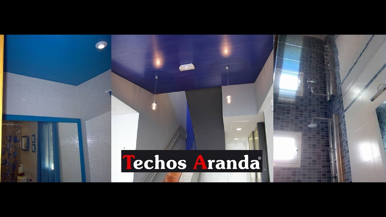Cielo raso para ba os cielo raso termoac sticos youtube for Techos de drywall modernos