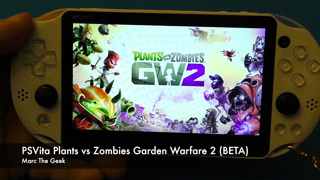 Psvita Remote Play Plants Vs Zombies Garden Warfare 2 Beta Youtube
