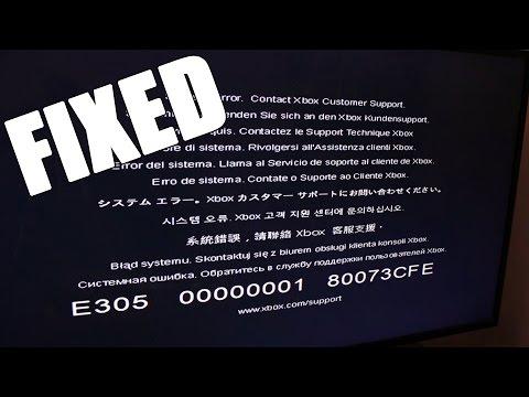 How to Fix E305 Error Code on Xbox One