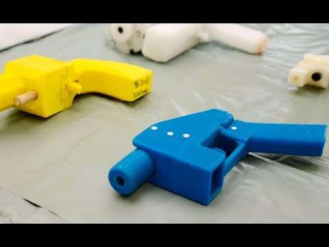The Last-Ditch Legal Fight to Stop 3-D Printed Guns
