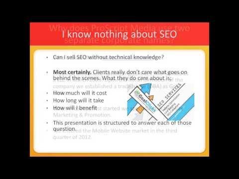 Understanding SEO (Internet Promotion & Marketing)