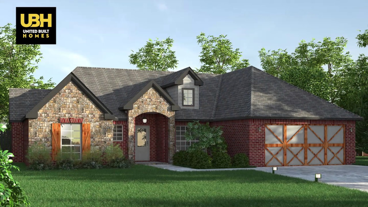 2016 united built homes fayetteville fort smith youtube for Fort smith home builders