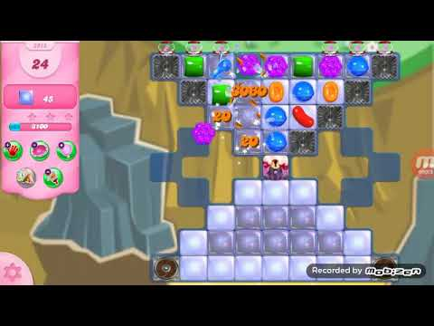 Candy Crush Saga Level 2915 No Boosters (on mobile)