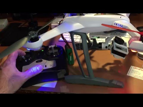 Connecting Pitch Control to G-2D Gimbal & Blade 350 QX3