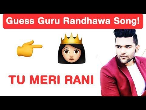 Guru Randhawa Songs Emoji Challenge! Guess Punjabi Songs