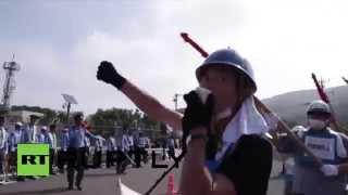 احتجاجات في اليابان ضد استئناف تشغيل المفاعل النووي رقم واحد (فيديو)