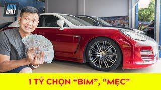 Giá xe sang cũ: Trên 1 tỷ, THA HỒ chọn Porsche, BMW và Mercedes |used luxury cars|