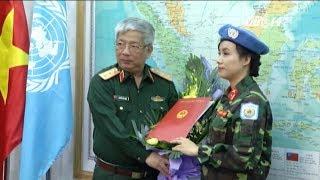VTC14 | Nữ sỹ quan đầu tiên của Việt Nam tham gia lực lượng gin giữ hòa bình LHQ