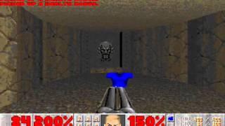 Doom II (100%) Walkthrough (Map11: Circle of Death)