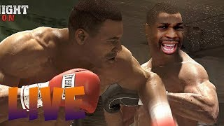BARE KNUCKLE FIGHT! TRAY VS 3MGLIVE ( NEW FIGHT NIGHT GAME SHOULD HAVE THIS! )