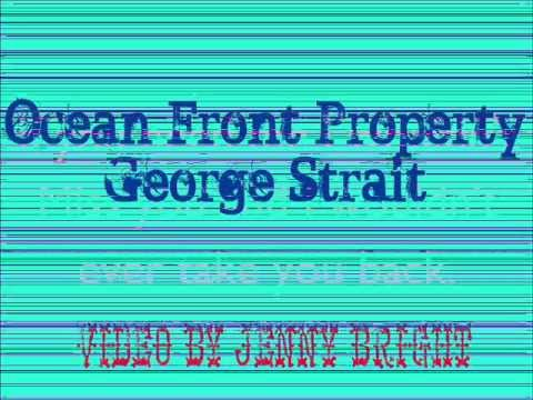 ocean front property george strait lyrics