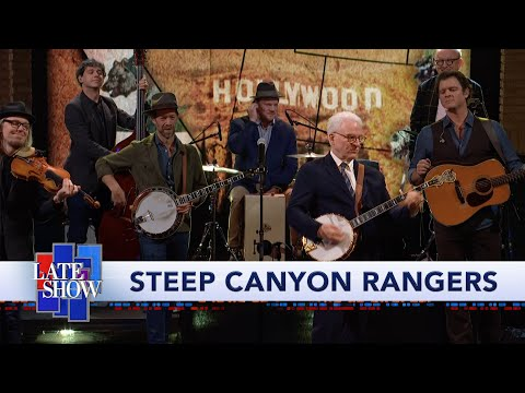 Watch Steve Martin and the Steep Canyon Rangers Perform 'California' on 'Colbert'