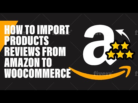 How to import reviews to amazon using wooshark dropshipping for amazon and woocommerce thumbnail