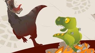 เจ้าไดโนเสาร์กำพร้าผู้น่าสงสาร - Dino the Beast: Dinosaur Game 📱 (DevilMeiji)