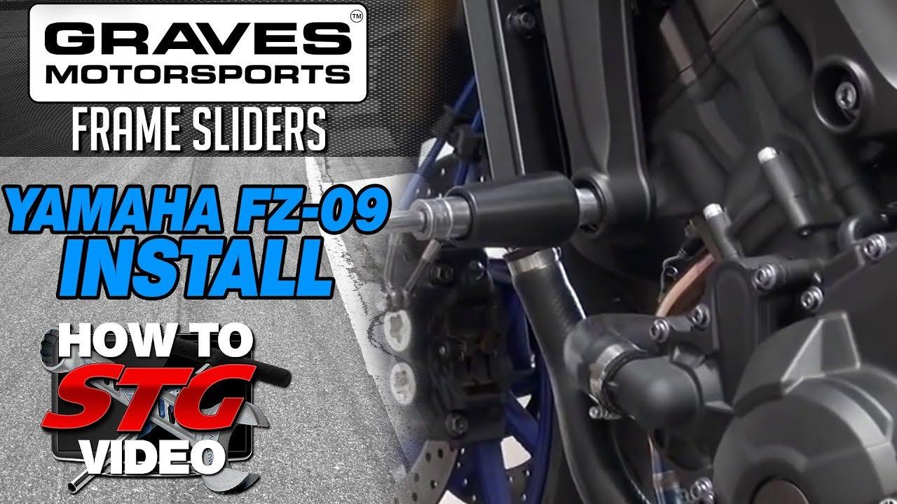 Yamaha Fz Frame Sliders