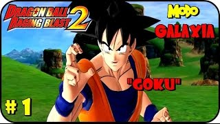 Dragon Ball Raging Blast 2 MODO GALAXIA GAMEPLAY PART 1