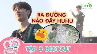 Cười xỉu khi soái ca Hàn Quốc nam 3 LẠC TRÔI giữa mê cung | BTS Từ Lạ Thành Thương
