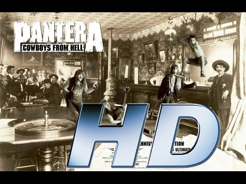 Full album  PanterA Cowboys From Hell  HD AUDIO REMASTERED