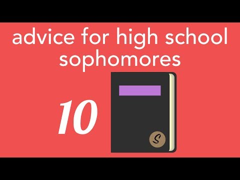 advice for high school sophomores