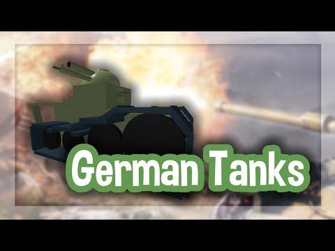 Roblox Script Showcase Episode#1150/German Tank