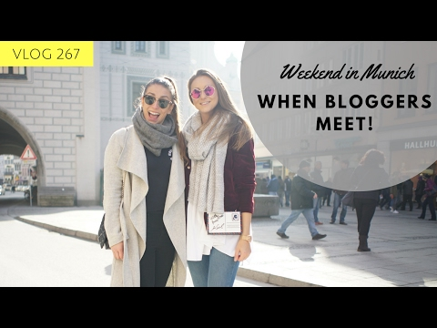 BLOGGERS GET TOGETHER in Munich - FASHION BLOGGER MEETS VLOGGER