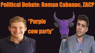 South Africa election debate: R Cabanac, Capitalist Party