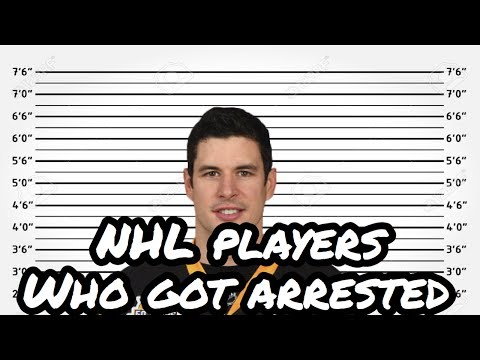 NHL Players who got arrested