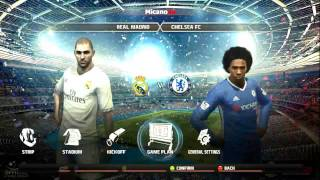 REAL MADRID VS CHELSEA pes2012 patch 2017