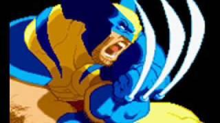 X-Men Vs Street Fighter-Theme of Wolverine Video