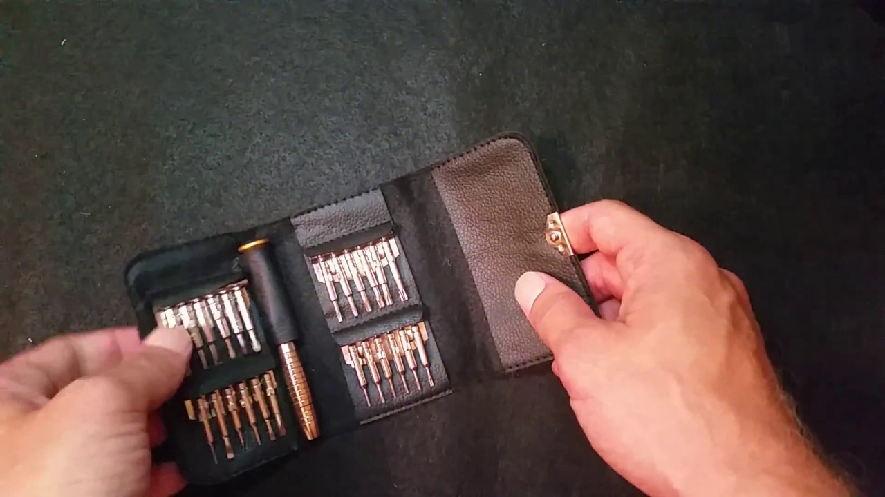 25 in 1 Multi-purpose Precision Screwdriver Wallet Set Repair Tools