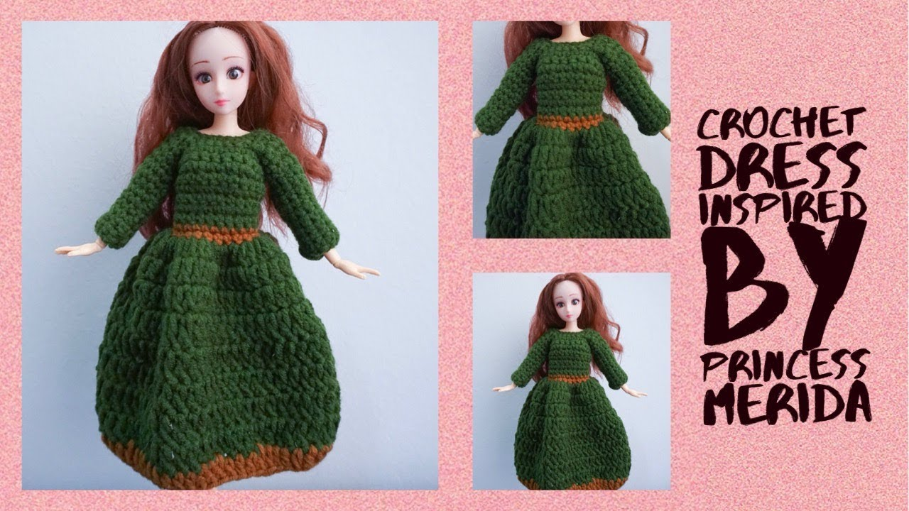 Ravelry: Merida Princess Amigurumi pattern by Chiara Cremon | 720x1280
