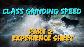 Grinding speed comparison for every class (Ongoing Project)   Part 2   Black Desert Online.