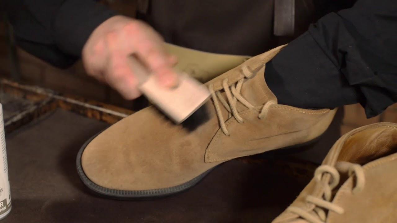 quality design 4049e 37b8a Colorare le scarpe di camoscio marrone chiaro