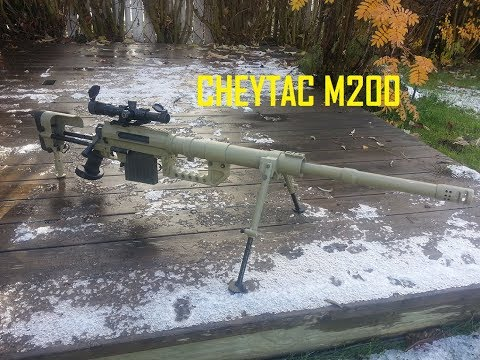 BETA PROJECT CHEYTAC M200 INTERVENTION REVIEW - DICE Airsoft