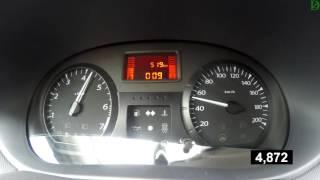 Lada Largus - разгон без полезной нагрузки (Racelogic)