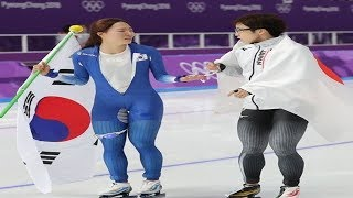 Lee Sang-hwa of South Korea wins silver in women