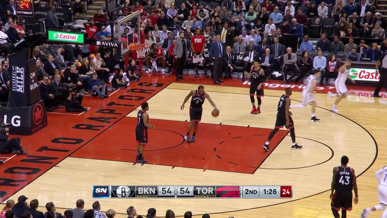 4bd84ca9e 4th Quarter, One Box Video: Toronto Raptors vs. Brooklyn Nets