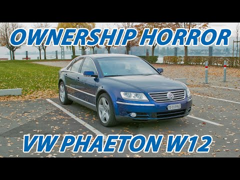 How Expensive Was It To Own A VW Phaeton W12 For 4 Years? Total Cost Of Ownership [TCO]