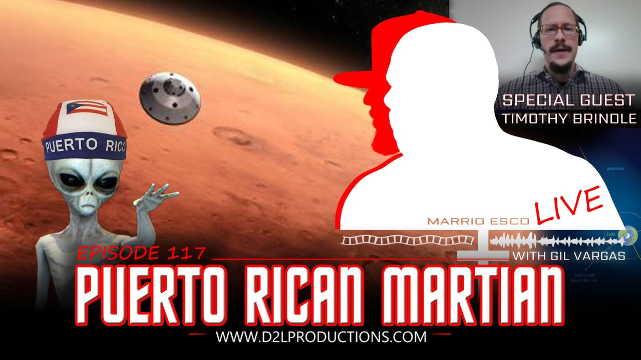 "Marrio Esco Live | Episode 117 ""Puerto Rican Martian"""