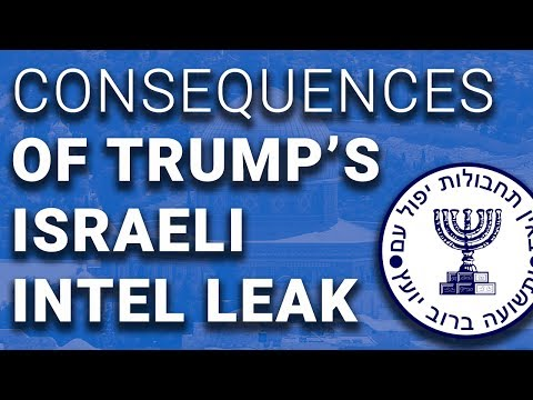 Israel & UK Reduce Intel Sharing With US After Trump Blurts Out Secrets