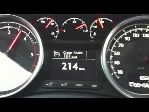 Peugeot 508 2.0 HDI 50-225 km/h HD