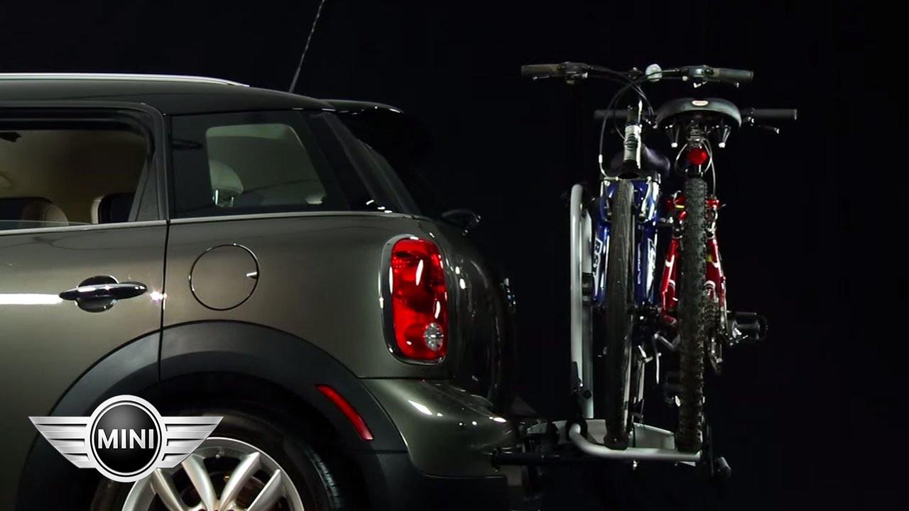 mini usa mini paceman mini countryman tow hook and bike rack