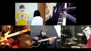 Gambar cover [HD]Tate no Yuusha no Nariagari ED [Kimi no Namae] Band cover