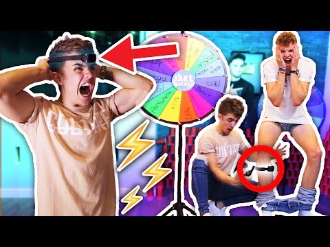 ELECTRIC SHOCK SPIN WHEEL GAME ⚡️ (You Spin It, You Get SHOCKED!!)