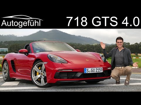 Porsche 718 Boxster GTS 4.0 vs 718 Cayman GTS 4.0 FULL REVIEW racetrack with Mark Webber
