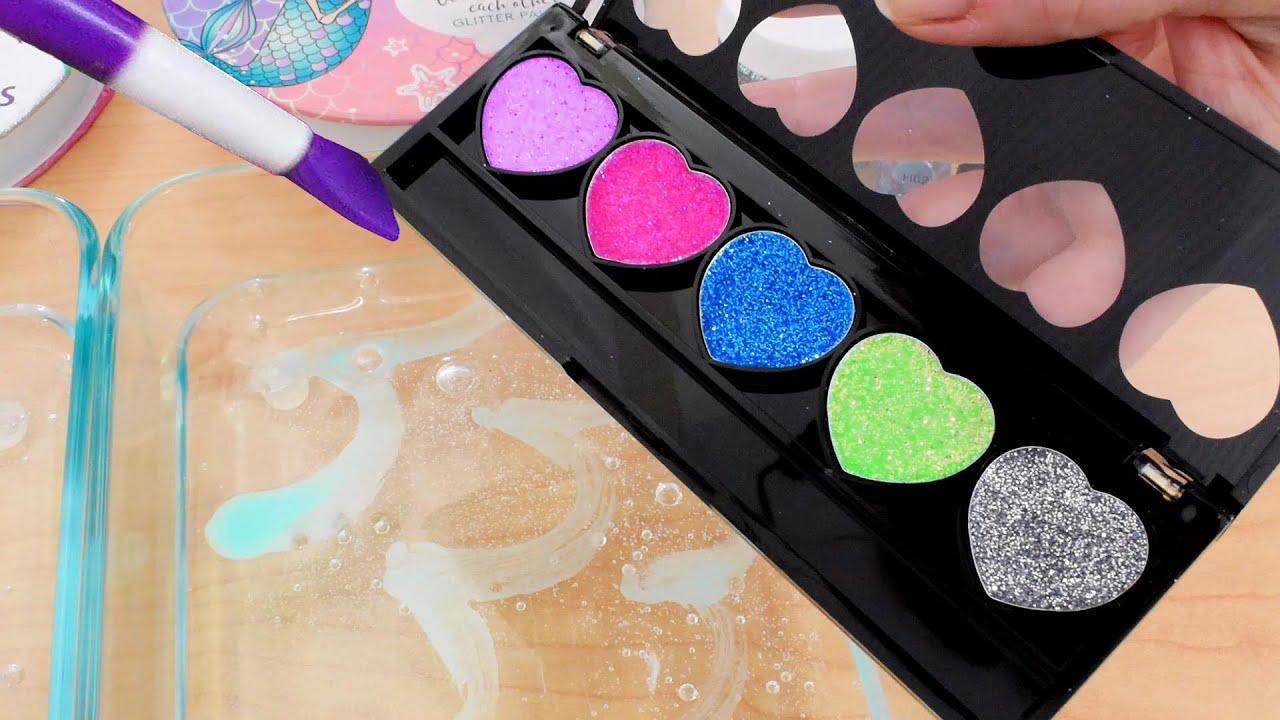 43 Soft Makeups Mixed into Slime ASMR