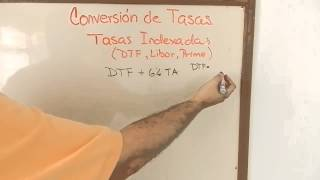 Conversion de Tasas Indexadas DTF Prime Libor mas Puntos