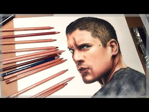 Drawing Wentworth Miller